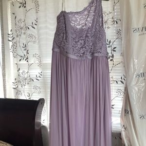 Bridesmaid/prom dress (lavender)